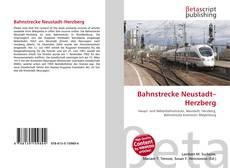 Borítókép a  Bahnstrecke Neustadt–Herzberg - hoz