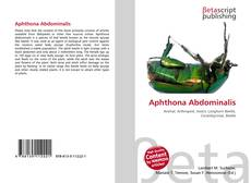 Bookcover of Aphthona Abdominalis