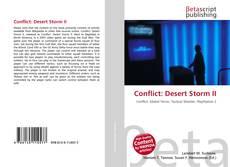 Couverture de Conflict: Desert Storm II