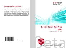 Copertina di South Korea Fed Cup Team