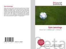 Buchcover von Sam Jennings