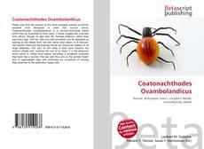 Bookcover of Coatonachthodes Ovambolandicus