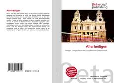 Bookcover of Allerheiligen