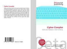 Couverture de Cipher Complex