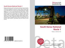 Portada del libro de South Korea National Route 1
