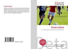 Capa do livro de Paulo Cabral
