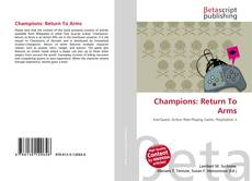 Bookcover of Champions: Return To Arms