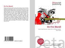 On Fire (Band) kitap kapağı