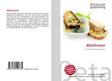 Capa do livro de Allesfresser
