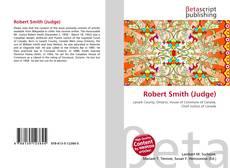 Capa do livro de Robert Smith (Judge)