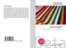 Bookcover of Ravi Chopra