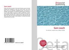 Capa do livro de Sam Leach