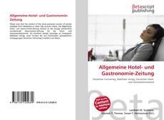 Buchcover von Allgemeine Hotel- und Gastronomie-Zeitung