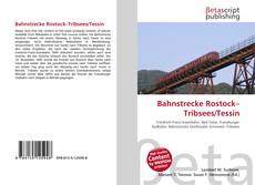 Bookcover of Bahnstrecke Rostock–Tribsees/Tessin