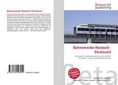 Bookcover of Bahnstrecke Rostock–Stralsund