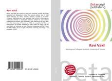 Bookcover of Ravi Vakil