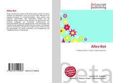 Bookcover of Alles-Rot