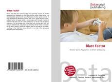 Обложка Blast Factor