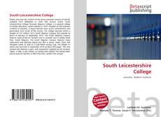 Buchcover von South Leicestershire College