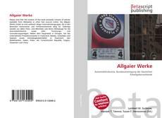 Обложка Allgaier Werke