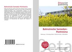 Bahnstrecke Samedan–Pontresina的封面