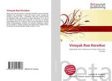 Bookcover of Vinayak Rao Koratkar