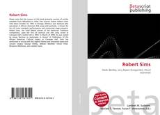 Bookcover of Robert Sims