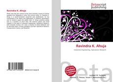 Bookcover of Ravindra K. Ahuja