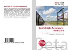 Couverture de Bahnstrecke Satu Mare–Baia Mare