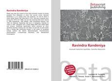 Bookcover of Ravindra Randeniya