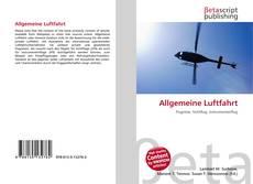 Обложка Allgemeine Luftfahrt