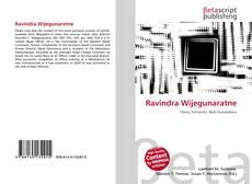 Bookcover of Ravindra Wijegunaratne