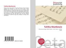 Talitha MacKenzie的封面
