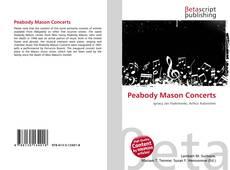 Обложка Peabody Mason Concerts