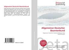 Allgemeiner Deutscher Beamtenbund的封面