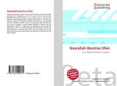 Nasrallah Boutros Sfeir kitap kapağı