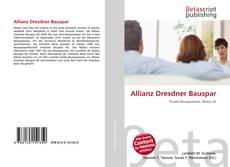 Portada del libro de Allianz Dresdner Bauspar