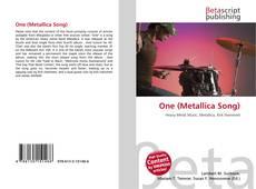 Copertina di One (Metallica Song)