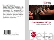 Buchcover von One (Sky Ferreira Song)