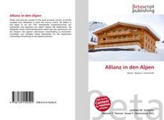 Allianz in den Alpen kitap kapağı