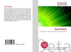 Bookcover of Sam Ruben
