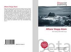 Portada del libro de Allianz Stopp Atom