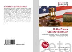 Couverture de United States Constitutional Law