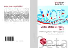 Bookcover of United States Elections, 2010