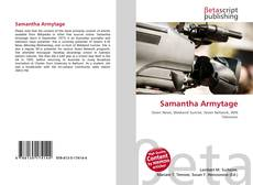 Bookcover of Samantha Armytage