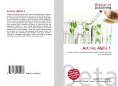 Bookcover of Actinin, Alpha 1
