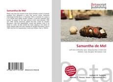 Bookcover of Samantha de Mel
