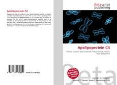 Borítókép a  Apolipoprotein C4 - hoz