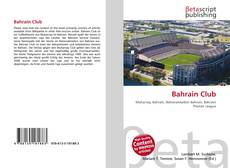 Bookcover of Bahrain Club