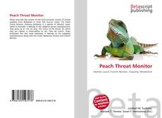 Bookcover of Peach Throat Monitor